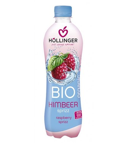 Био Газирана напитка Малина Hollinger 500 ml