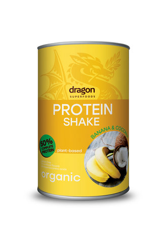 Био Протеинов шейк с банан и кокос Dragon Superfoods 450 g