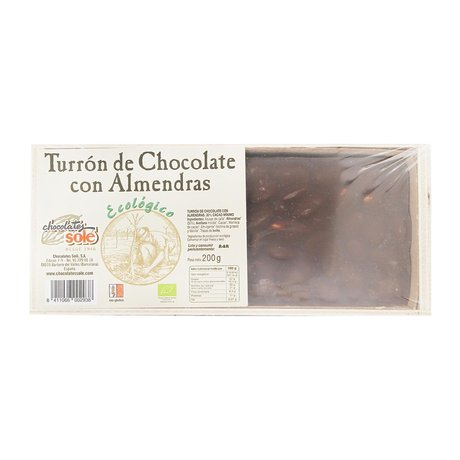 Био Шоколад с бадеми Турон Chocolates Sole 200 g