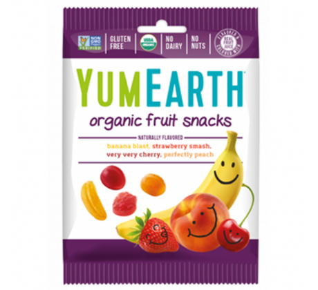 Био Желирани плодови бонбони Yammi Earth 50 g