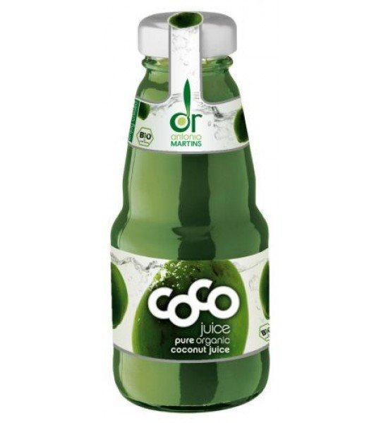 Био Кокосова вода - натурална GreenCoco 200 ml